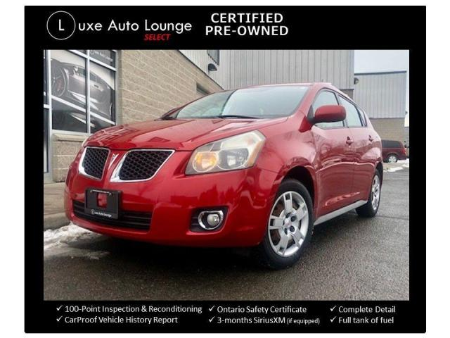 2009 Pontiac Vibe AWD, WINTER TIRES, LOW KMS, A/C!!