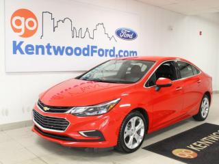 Used 2018 Chevrolet Cruze Premier   Leather Seats   Heated Steering   Automatic for sale in Edmonton, AB