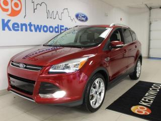 Used 2016 Ford Escape Titanium | 4WD | Leather | Sunroof | Nav | One Owner | No Accidents | 2.0L for sale in Edmonton, AB