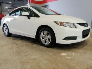 Used 2013 Honda Civic Cpe LX for sale in Red Deer, AB