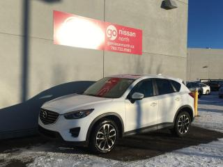 Used 2016 Mazda CX-5 GT/AWD/LANE DEPARTURE/ADAPTIVE CRUISE/NAVIGATION for sale in Edmonton, AB