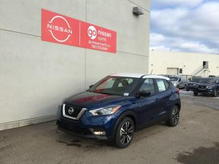 New 2020 Nissan Kicks BLIND SPOT/LANE WARNING/REAR TRAFFIC ALERT/PUSH START/DEMO/REMOTE START for sale in Edmonton, AB
