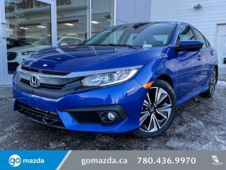 Used 2016 Honda Civic Sedan EX-T - TURBO, AUTO, LANE DEPARTURE, HEATED SEATS, MOON ROOF, BACK UP for sale in Edmonton, AB