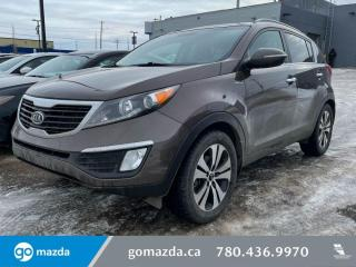 Used 2012 Kia Sportage EX - LUXURY PKG, AWD, LOW KMS HEATED SEATS, AND MUCH MORE! for sale in Edmonton, AB