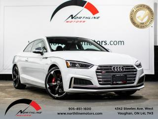Used 2018 Audi S5 Progressiv/Coupe/Navigation/Red Leather for sale in Vaughan, ON