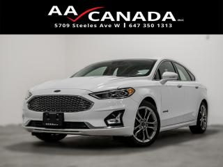 Used 2019 Ford Fusion Hybrid Titanium 100% ACCIDENT FREE AND CLEAN CARFAX NAVI for sale in North York, ON