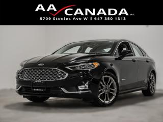 Used 2019 Ford Fusion Hybrid Titanium|100% ACCIDENT FREE|LEATHER|SUNROOF|NAVI for sale in North York, ON