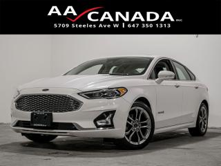 Used 2019 Ford Fusion Hybrid Titanium|NAVI|LEATHER|SUNROOF| for sale in North York, ON