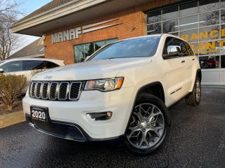 Used 2020 Jeep Grand Cherokee Limited 4x4 Navi Sunroof Rear Cam R.Starter Certi* for sale in Concord, ON