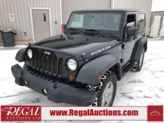 Used 2011 Jeep Wrangler Rubicon 2D Utility 4WD 3.8L for sale in Calgary, AB