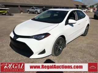Used 2019 Toyota Corolla LE 4D Sedan 1.8L for sale in Calgary, AB
