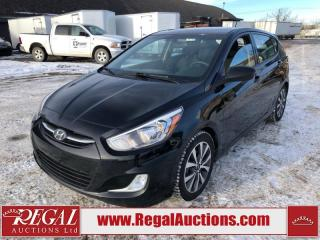 Used 2017 Hyundai ACCENT SE 5D HATCHBACK AT 1.6L for sale in Calgary, AB