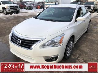 Used 2015 Nissan Altima S 4D Sedan 2.5L for sale in Calgary, AB