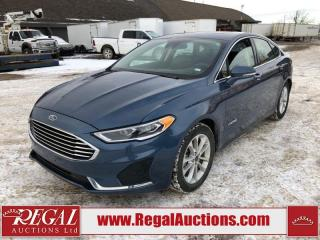 Used 2019 Ford Fusion SEL HYBRID 4D SEDAN FWD 2.0L for sale in Calgary, AB