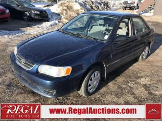 Used 2002 Toyota Corolla CE 4D Sedan for sale in Calgary, AB