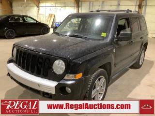 Used 2007 Jeep PATRIOT LIMITED 4D UTILITY for sale in Calgary, AB