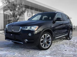 Used 2017 BMW X3 xDrive28i ENHANCED! LOCAL! for sale in Winnipeg, MB