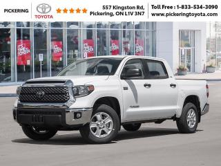 New 2021 Toyota Tundra Tundra 4x4 Crewmax SR5 for sale in Pickering, ON
