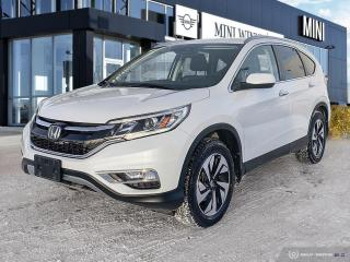 Used 2016 Honda CR-V Touring No Accidents! for sale in Winnipeg, MB