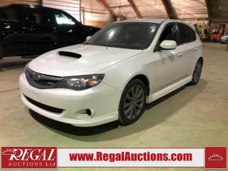 Used 2010 Subaru Impreza WRX 4D Sedan 4WD for sale in Calgary, AB