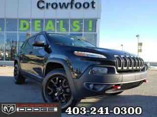 Used 2016 Jeep Cherokee TRAILHAWK V6 4X4 for sale in Calgary, AB