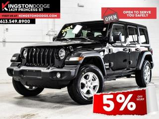 New 2021 Jeep Wrangler Unlimited Sport S for sale in Kingston, ON