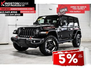 New 2021 Jeep Wrangler Unlimited Rubicon for sale in Kingston, ON