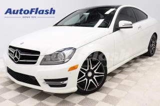 Used 2014 Mercedes-Benz C-Class COUPE* AMG-PACK* AWD* CAMERA* GPS* PANO-ROOF* V6* for sale in Saint-Hubert, QC