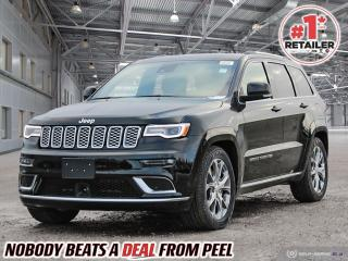 New 2021 Jeep Grand Cherokee Summit for sale in Mississauga, ON