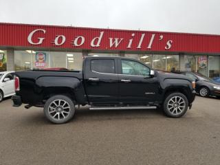 Used 2017 GMC Canyon DENALI! LANE ASSIST! REMOTE START! NAV! B/T! for sale in Aylmer, ON