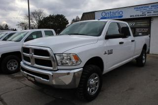 Used 2018 RAM 2500 SLT 4x4 Crew 8ft box 6.7L Cummins Diesel Long Box for sale in Mississauga, ON