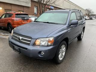 Used 2007 Toyota Highlander 4WD 4dr Hybrid, NAVIGATION, LEATHER, SUNROOF for sale in North York, ON