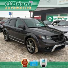 Used 2015 Dodge Journey Crossroad w/AWD, Command Start, Third-row, Leather, Heated Seats for sale in Saskatoon, SK