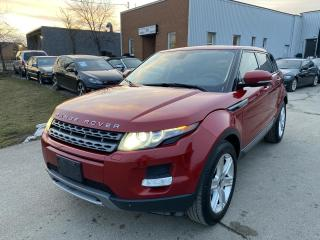 Used 2012 Land Rover Evoque Pure Premium 5-Door for sale in Oakville, ON