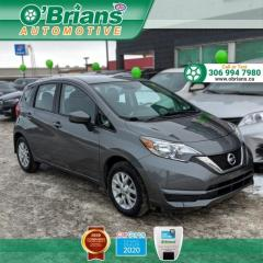 Used 2018 Nissan Versa Note SV - Accident Free! w/Heated Seats, Backup Camera, Cruise, Air Conditioning for sale in Saskatoon, SK