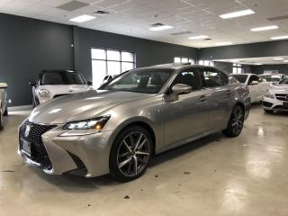 Used 2017 Lexus GS 350 F-SPORT LEVEL2*FULLY LOADED*MINT CONDITION*LIKE NE for sale in North York, ON