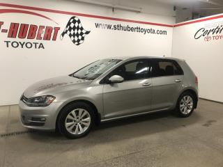 Used 2015 Volkswagen Golf 5dr HB Auto 1.8 TSI Comfortline for sale in St-Hubert, QC