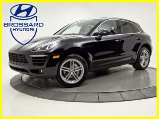 Used 2018 Porsche Macan S AWD TURBO NAV CAM DE RECUL/360 TOIT PANO for sale in Brossard, QC