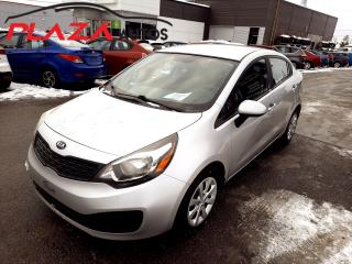 Used 2015 Kia Rio 4dr Sdn Man LX+ for sale in Beauport, QC