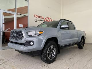 Used 2018 Toyota Tacoma * 4X4 * TRD SPORT * CUIR * TOIT OUVRANT * GPS * for sale in Mirabel, QC