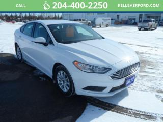 Used 2017 Ford Fusion S for sale in Brandon, MB