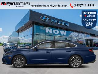 New 2021 Hyundai Sonata 1.6T Ultimate  - Cooled Seats - $247 B/W for sale in Nepean, ON