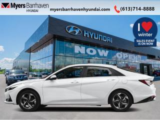New 2021 Hyundai Elantra Preferred w/Sun & Tech Package IVT for sale in Nepean, ON