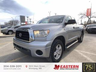 Used 2007 Toyota Tundra SR5 | AWD | Tow Hooks | Cruise Control | for sale in Winnipeg, MB