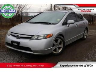 Used 2006 Honda Civic 4dr EX Manual for sale in Whitby, ON