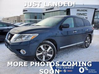 Used 2014 Nissan Pathfinder Platinum 4WD | Rear DVD | Cooled Seats | Bose for sale in Winnipeg, MB