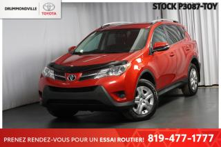 Used 2015 Toyota RAV4 LE| CAM RECUL| SIÈGES CHAUFFANTS for sale in Drummondville, QC