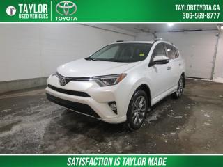 Used 2017 Toyota RAV4 LIMITED  for sale in Regina, SK