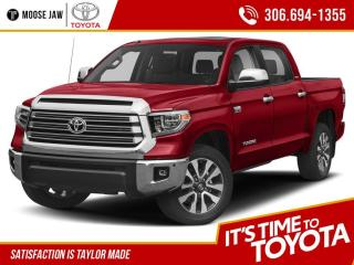 New 2021 Toyota Tundra 4x4 CrewMax Platinum with 1794 Edition for sale in Moose Jaw, SK