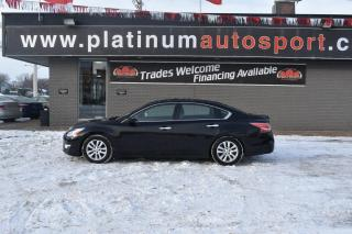 Used 2015 Nissan Altima 2.5 S IMPRESSIVE ACCELERATION AND FUEL ECONOMY!! for sale in Saskatoon, SK